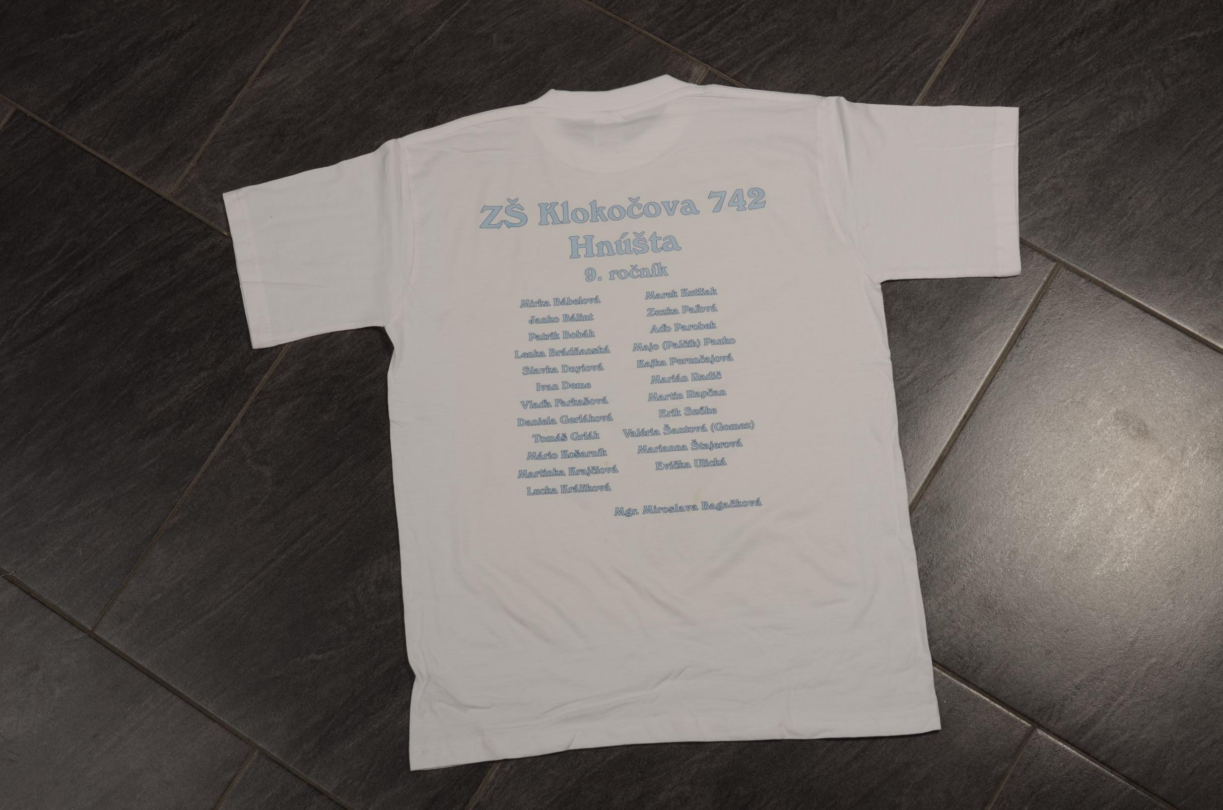 Absolventské tričko