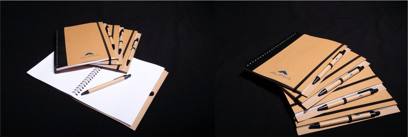 Potlač diárov a zápisníkov