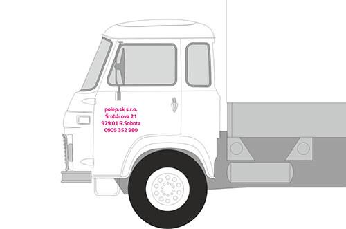 Označenie firemných vozidiel