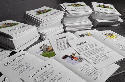 Výroba brožúr