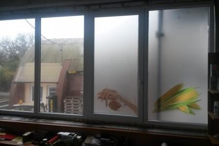 Nepriehľadná fólia na okná