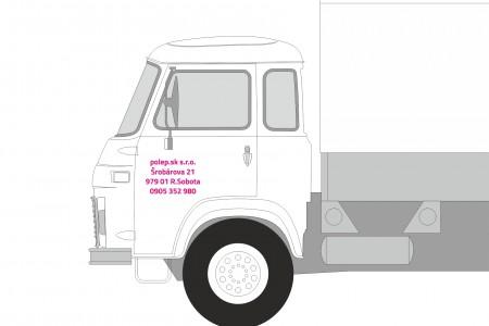Označovanie firemných vozidiel
